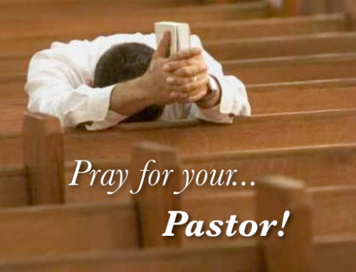 You want a great pastor?